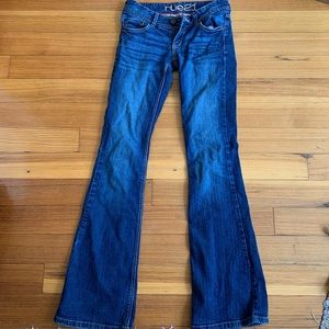 rue 21 low rise flare jeans!!!